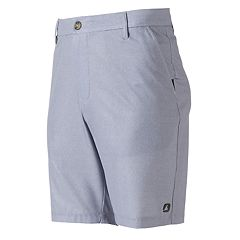 Men's Free Country HydroFlx Striped Hybrid Shorts