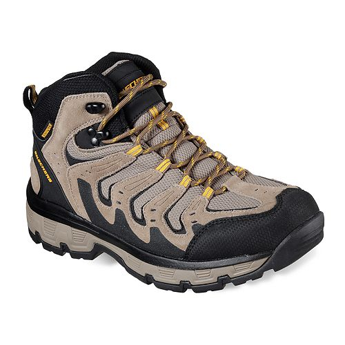 15b2aff11b9 Skechers Relaxed Fit Morson Gelson Men's Waterproof Hiking Boots