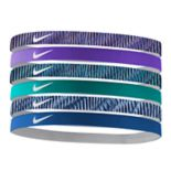 Nike 6-pk. Solid & Striped Headband Set