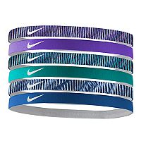 Nike 6 pkSolid & Striped Headband Set