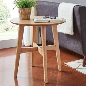 HomeVance Acuna Danish Modern End Table
