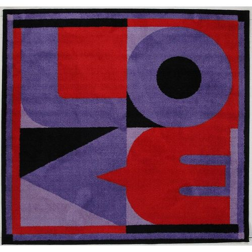 Fun Rugs Fun Time Shape ''Love'' Rug - 4'3'' x 4'3''
