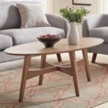 HomeVance Acuna Danish Modern Coffee Table