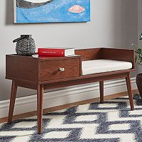 HomeVance Torrey Mid Century Telephone Bench