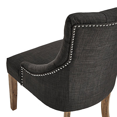 HomeVance Tristania Tufted Accent Chair 2-piece Set