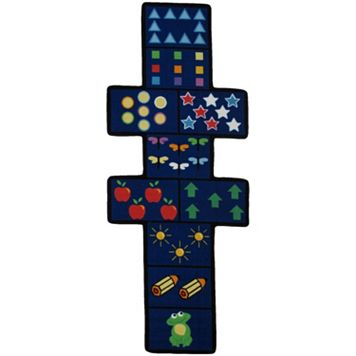 Fun Rugs Fun Time Shape Hopscotch Rug Runner - 2'6'' x 6'6''