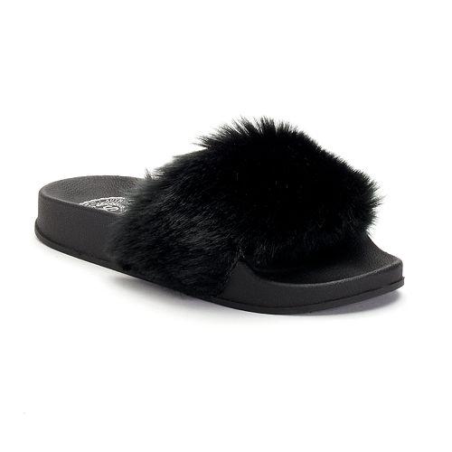 SO® Bloom Girls' Slide Sandals