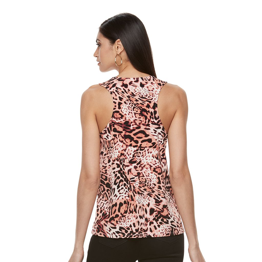 Women's Jennifer Lopez Lace-Up Tank