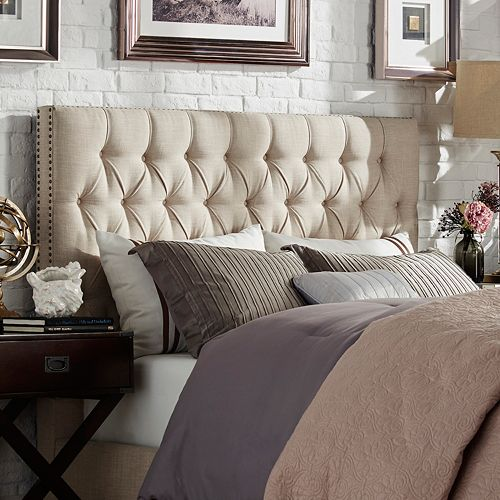 HomeVance Montclair Button Tufted Headboard