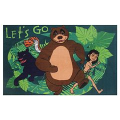 Fun Rugs Jungle Book ''Let's Go'' Rug - 3'3'' x 4'10''