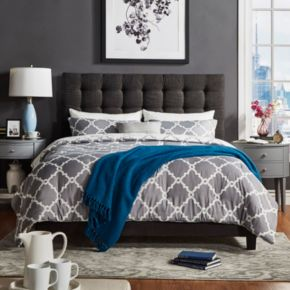 HomeVance Condesa Button Tufted Platform Bed