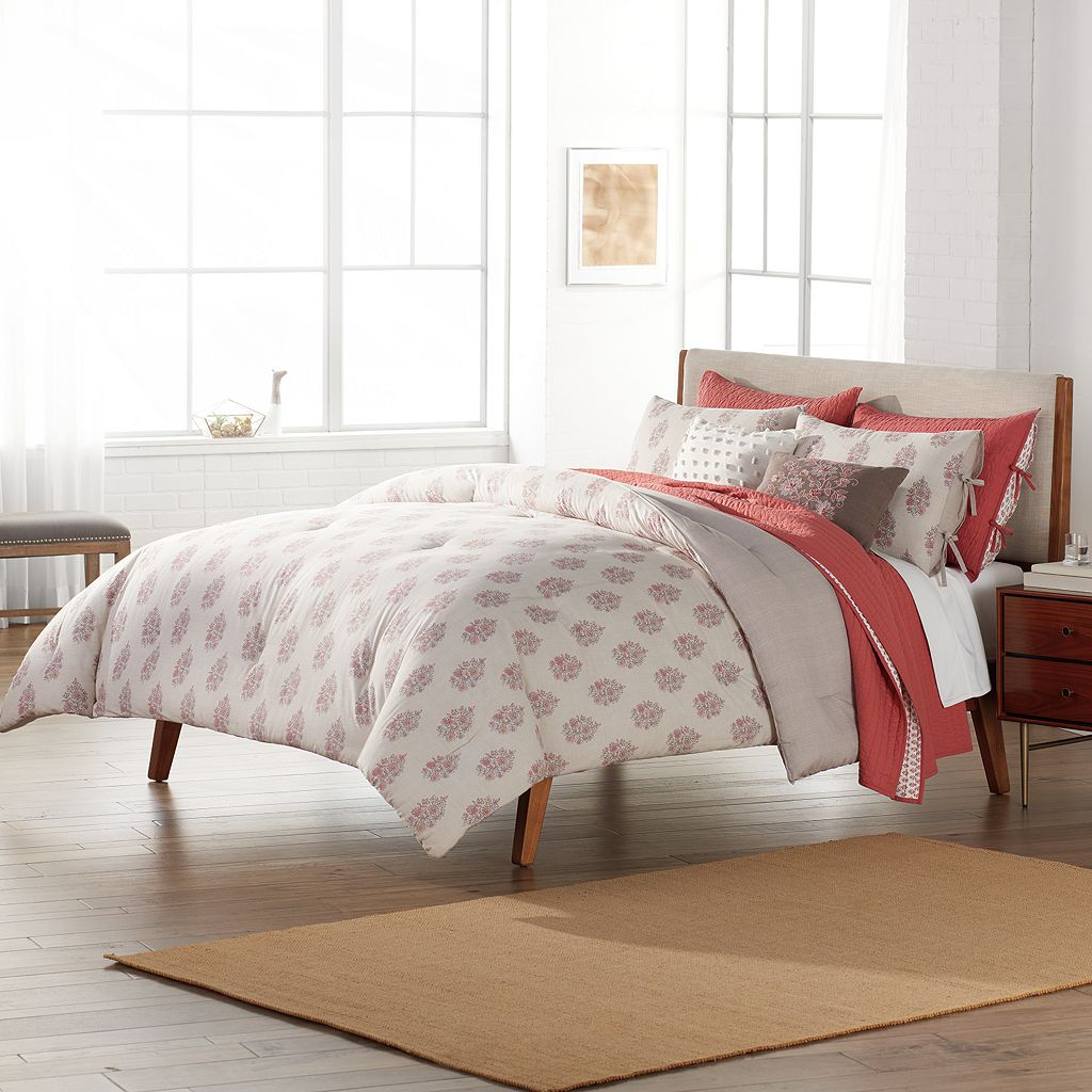 SONOMA Goods for Life™ Jasmine Woodblock Floral Comforter Set