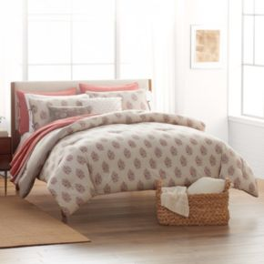 SONOMA Goods for Life™ Jasmine Woodblock Floral Comforter Set