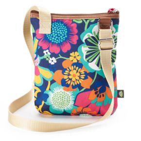 Lily Bloom Eva Multi Section Crossbody Bag