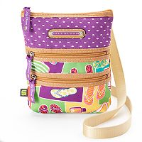 Lily Bloom Eva Multi Section Crossbody Bag