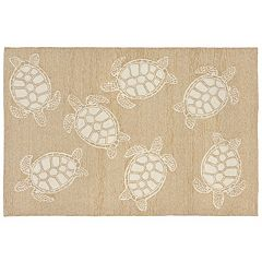 Liora Manne Front Porch Capri Turtle Indoor Outdoor Rug