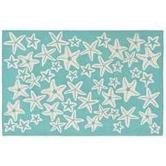 Liora Manne Front Porch Capri Starfish Indoor Outdoor Rug