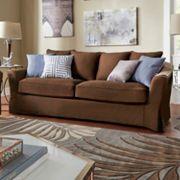 HomeVance Serenata Slip Covered Sofa