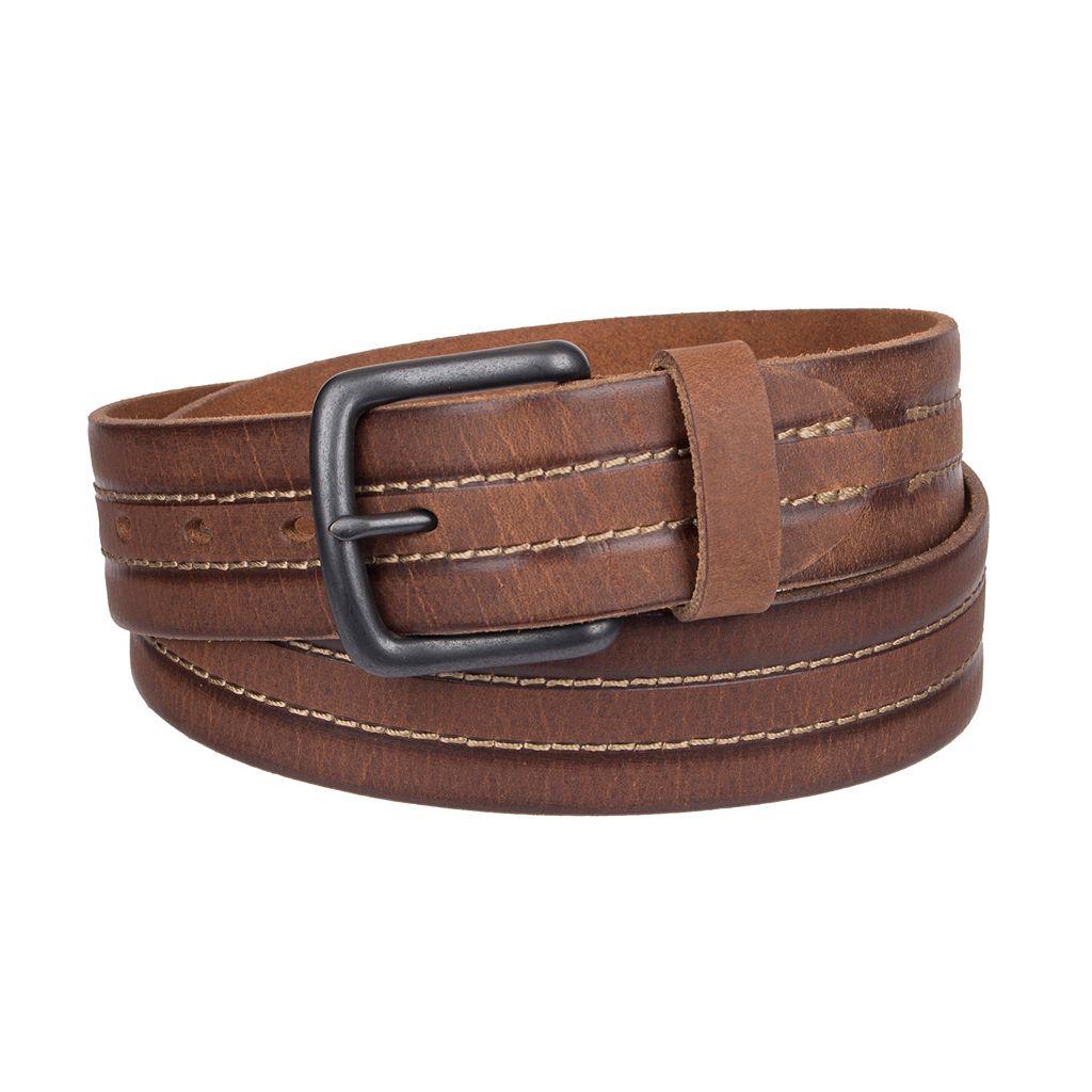 Men's Levi's® Center-Stitched Leather Belt