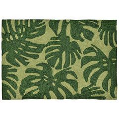 Liora Manne Front Porch Capri Fronds Indoor Outdoor Rug