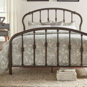 HomeVance Chaucer Arched Metal Bed