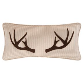 Sleepy Forest Oblong Throw Pillow