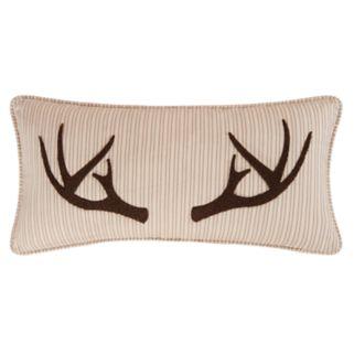 Sleepy Forest Oblong Throw Pillow