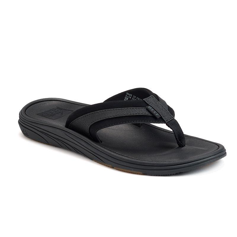 uk availability cheapest buying cheap Reef Phoenix Men's Sandals, Size: 14, Black