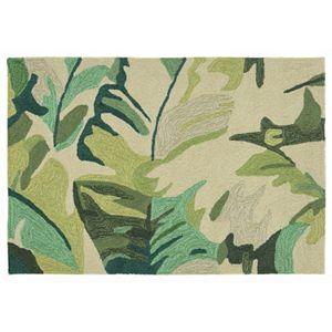 Trans Ocean Imports Liora Manne Front Porch Capri Palm Leaf Indoor Outdoor Rug