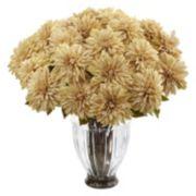 nearly natural Silk Dahlia Artificial Floral Arrangement