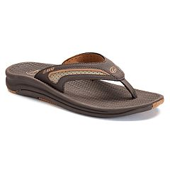 968c00dee700e REEF Flex Men s Sandals. Dark Brown Black Silver Dark ...