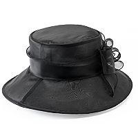 Riviera Organza Cloche Hat