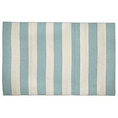Liora Manne Front Porch Sorrento Rugby Striped Indoor Outdoor Rug