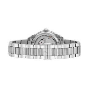 Bulova Women's Diamond Stainless Steel Automatic Skeleton Watch - 96P181