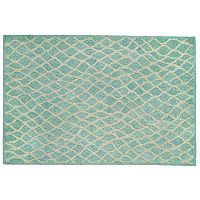 Trans Ocean Imports Liora Manne Front Porch Wooster Twist Lattice Indoor Outdoor Rug