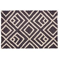 Trans Ocean Imports Liora Manne Front Porch Wooster Kuba Geometric Indoor Outdoor Rug