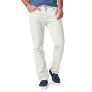 Big & Tall Chaps Straight-Fit Stretch 5-Pocket Twill Pants