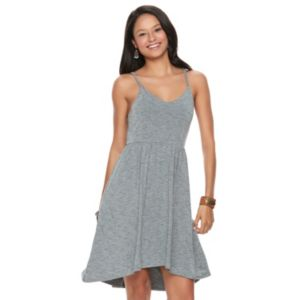Juniors' SO® High-Low Hem Strappy Dress