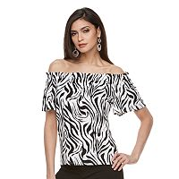 Women's Jennifer Lopez Off-the-Shoulder Tee