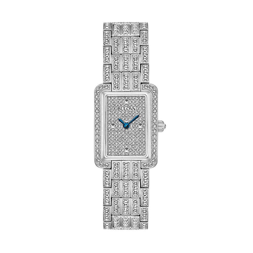 Bulova Women's Crystal Stainless Steel Watch - 96L244