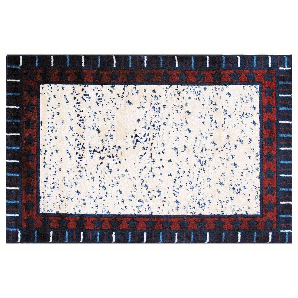 Fun Rugs Supreme Stars & Stripes Rug - 3'3'' x 4'10''