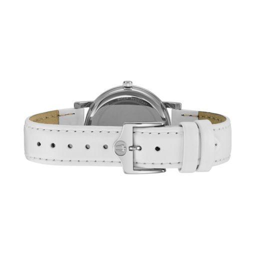 Bulova Women's Crystal Leather Watch - 96L245