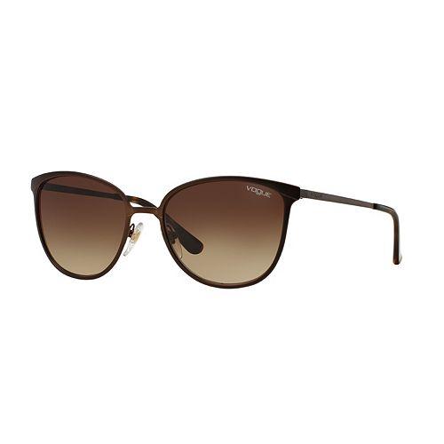 Vogue In Vogue VO4002S 55mm Round Gradient Sunglasses