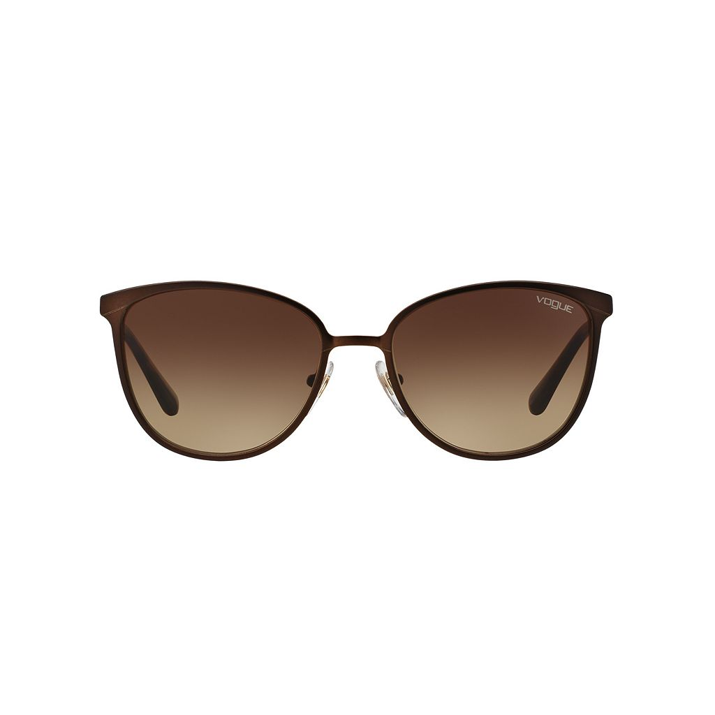 Vogue In Vogue VO4002S 55mm Round Gradient Sunglasses