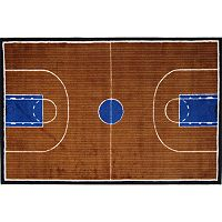 Fun Rugs Supreme Basketball Court Rug - 2'7'' x 3'11''