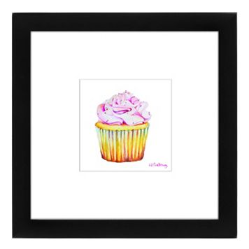 Americanflat Bon Gateau Rose Framed Wall Art