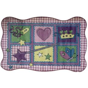 Fun Rugs Supreme Fairy Quilt Rug - 3'3'' x 4'10''