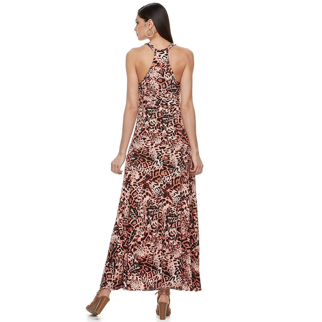 Women's Jennifer Lopez Racerback Maxi Dress