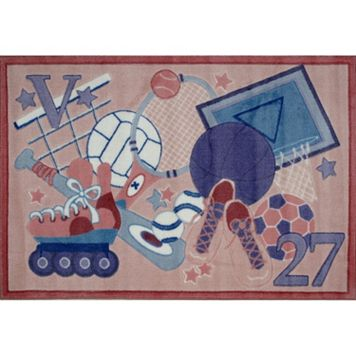 Fun Rugs Supreme All Star Girls Rug - 3'3'' x 4'10''