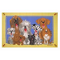 Fun Rugs Wags & Whiskers The Dogs Of Duckport Rug - 3'3'' x 4'10''